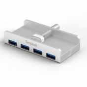 Aluminium USB 3.0 Hub 4-Port, Simpeak USB 3.0 Hub For iMac Slim Unibody