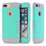 iPhone 7 Plus Case, VPR Bumper Case Shock Absorbing Thin Cute Cover [Scratch Proof] Plastic Shell + TPU Rubber Inner Hybrid Slim Fit Rubber Silicone Cover for Apple iPhone 7 Plus