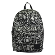 Yiuswoy Casual Canvas Backpack Large Capacity Laptop PC Bag Rucksack Schoolbag Bookbags for Teenage Girls Boys - Black