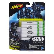 Hasbro Star Wars B7865EU4 - Rogue One Glow in the Dark 14 Darts Refill Pack