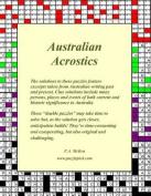 Australian Acrostics