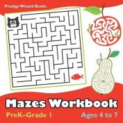 Mazes Workbook - Prek-Grade 1 - Ages 4 to 7