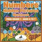 Numbers Hidden Pictures Workbook - Prek-Grade 1 - Ages 4 to 7
