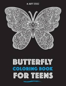 Butterfly Coloring Book for Teens
