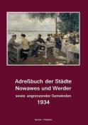 Adressbuch Der Stadte Nowawes Und Werder Fur 1934 [GER]