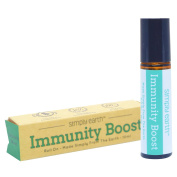 Immunity Boost Essential Oil Blend Roll-On Bottle by Simply Earth - 10ml, 100% Pure Therapeutic Grade