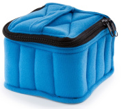 Plant Therapy Essential Oils Royal Blue/Baby Blue Soft Essential Oils Carrying Case