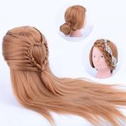 SHERUI 60cm Super Long Hair Hairdressing Training Head /Practise Head Model