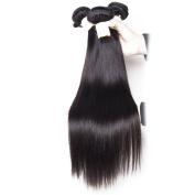 BeautyGrace 7A Peruvian Virgin Hair Straight Unprocessed Human Hair Bundles 3Pcs/ Lot Natural Black