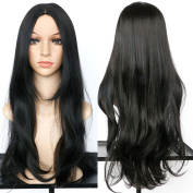 Dreambeauty Silk Straight Long Synthetic Wig for Women Daily Cosplay Party Synthetic Wigs Fashion Hairstyles for Women Natural As Real Human Hair