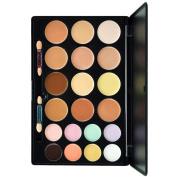 Cosmetics Cream Concealer Palette, KRABICE 20 Colour Makeup Dark Circle Concealer Cream Make Up Foundation Makeup Palette Set