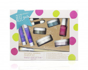 Luna Star Naturals Klee Girls 7 Piece with Bonus Bamboo Brush Far and Wide Gift Set