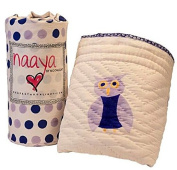 Naaya by Moonlight Organic Cotton Baby and Toddler Quilt 130cm x 100cm