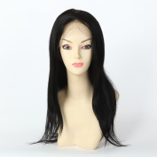 Wigsroyal 7a Human Hair Wigs for Black Women Indian Remy Whole Lace Wig Straight Wigs with Baby Hair #1 41cm Small Cap Size