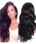 Loose Body Wave Lace Front Wigs for Black Women 8A Brazilian Virgin Hair Human Hair Wigs with Baby Hair