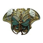 Fairie Hair Clip Art Nouveau Fairy Hair barrettes Angelina Verbuni Designs Unique Hair Clips