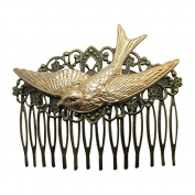 Swallow Tail Hair Comb Decorative hair combs Wedding Hair Accessories Bird Hair comb