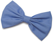 Periwinkle Hair Bow Clip Hair Accessory Handmade by Sweet in the City