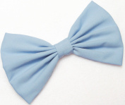 Classic Light Blue Hair Bow Clip Hair Accessory Handmade by Sweet in the City