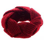 Gilroy Womens Crochet Twist Knitted Headband Winter Warm Headwrap