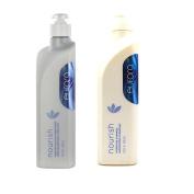 Bundle - 2 Items : Eufora Nourish Hydrating Shampoo, 500ml & Eufora Nourish Moisture Solution Conditioner, 500ml