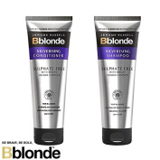 Jerome Russell Bblonde Silverising Shampoo 250ml & Conditioner 250ml by Bblonde
