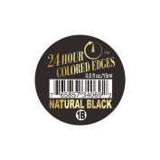 24 Hour Coloured Edges #1B Natural Black 0.5oz/15ml + 1 Free Sample