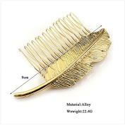 Bzybel Vintage Alloy Luxury Hair Comb Clips Hair Styling Claw for Women Girls