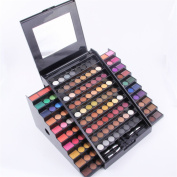 PhantomSky 130 Colour Elegant Eyeshadow Makeup Palette Cosemetic Contouring Kit - Perfect for Professional and Daily Use