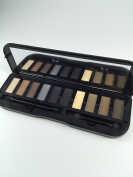 Attractive Scenery Brand 10 Colours Eyeshadow Palette Eye Shadow With Brush Makeup Set Cosmetics Steel Case