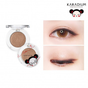 [KARADIUM] PUCCA LOVE EDITION Shine Eye Shadow 1.7g - 6 Colours / Long Lasting Moist Fitting Daily Makeup Shadow