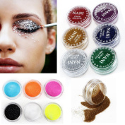 SHERUI Professional 24 Mixed Colour Glitter Mineral Eyeshadow Eye Makeup Shadow Pigments Powder