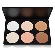 Sipaike 6 Colours Makeup Contour Blusher Face Blush Palette