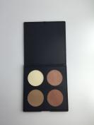 4 Colour Blush Palette Makeup Cosmetic Contour Shading Face Concealer Powder Palette 6#