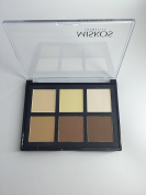 6-colour powder Women Makeup Cosmetic Contour Shading Pressed Powder Kit Palette