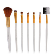 Baomabao 7pcs Makeup Cosmetic Brushes Eyeshadow Foundation Blending Brush