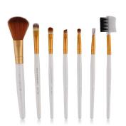 Baomabao 7pcs Makeup Cosmetic Brushes Eyeshadow Foundation Blending Brush