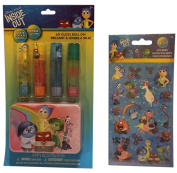 Inside Out Lip Gloss Bundle with Stickers