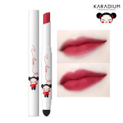 [KARADIUM] PUCCA LOVE EDITION Smudging Velvet Matte Long Lasting Lip Tint Stick 1.4g - 6 Colours