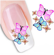 6 Sheets Nail Art Sticker Nail Art Tips Decal Beauty Manicure Fingernail Foil Adhesive for Nails