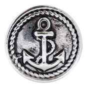 Anchor Snap Jewellery Interchangeable Buttons Charms