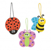 3 ~ Bug Ornament Craft Kits ~ New