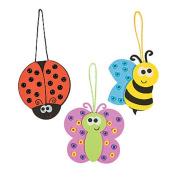 3 ~ Bug Ornament Craft Kits ~ New