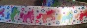 Unicorn Magic Ponies Satin Ribbon - 4 Yards 1.6cm Wide