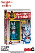 McFarlane Construction Set - Five Nights at Freddy's - TOY BONNIE WITH LEFT AIR VENT - 36 PCS