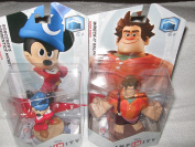 Disney Infinity Interactive Video Game Toy Box Character Bundle Pack
