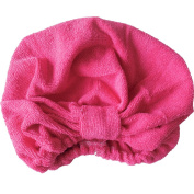 Surker Newly Design Microfiber Bath Towel Hair Dry Hat Cap Quick Drying Lady Bath Tool