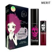 [MERIT] Killing Me Zombie Crazy Lip Tint Gift Set (Gloss Lip Tint + Watery Lip Tint)