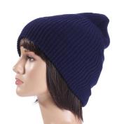 Sunfei Men Women Baggy Warm Crochet Winter Wool Knit Ski Beanie Skull Slouchy Caps Hat