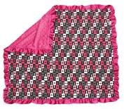 Dear Baby Gear Baby Blankets, Pink Guitars, Pink Minky